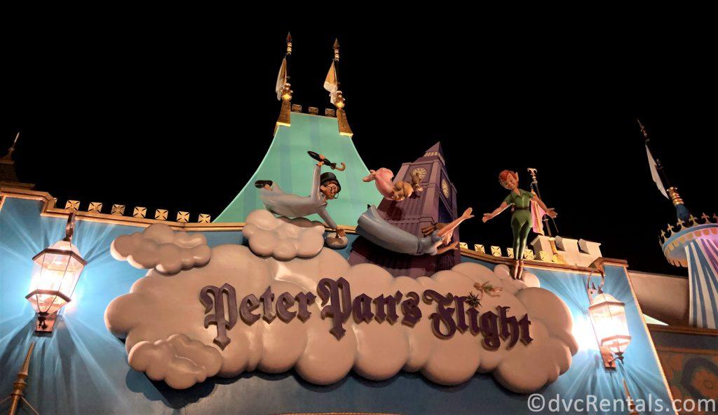 Peter Pan's Flight at the Magic Kingdom