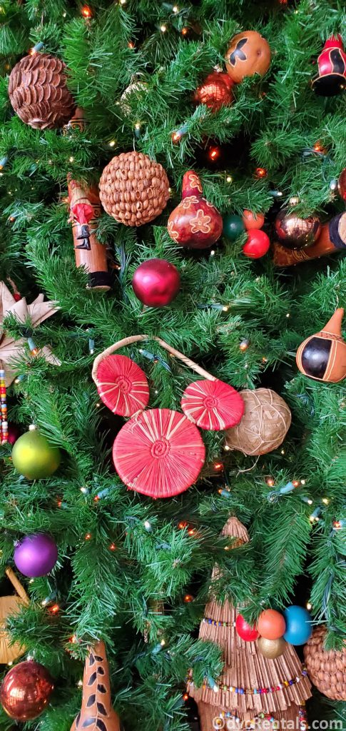 close up of ornaments at Disney's Animal Kingdom – Kidani Village