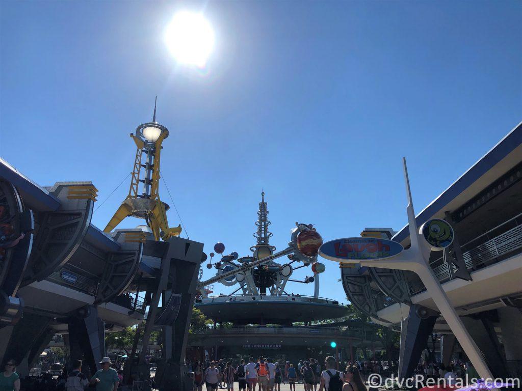 Tomorrowland at the Magic Kingdom
