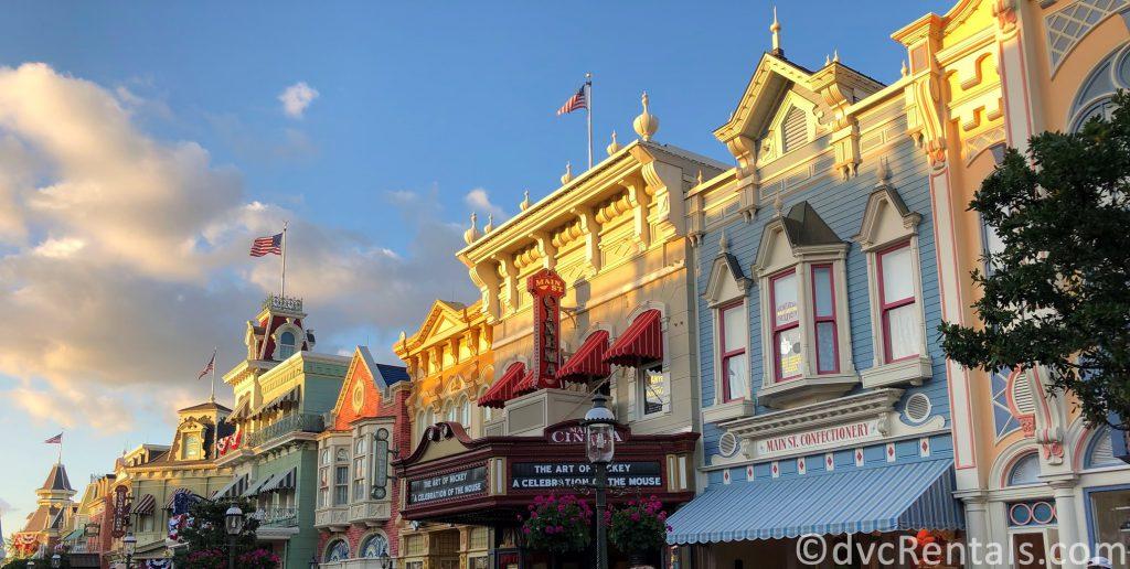 Main Street U.S.A. in the Magic Kingdom