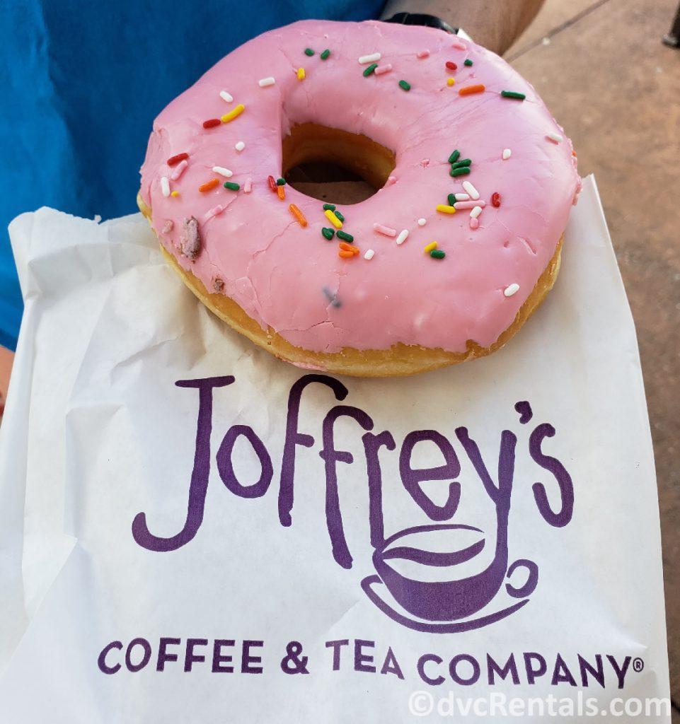 Donut from Joffery's Coffee Cart