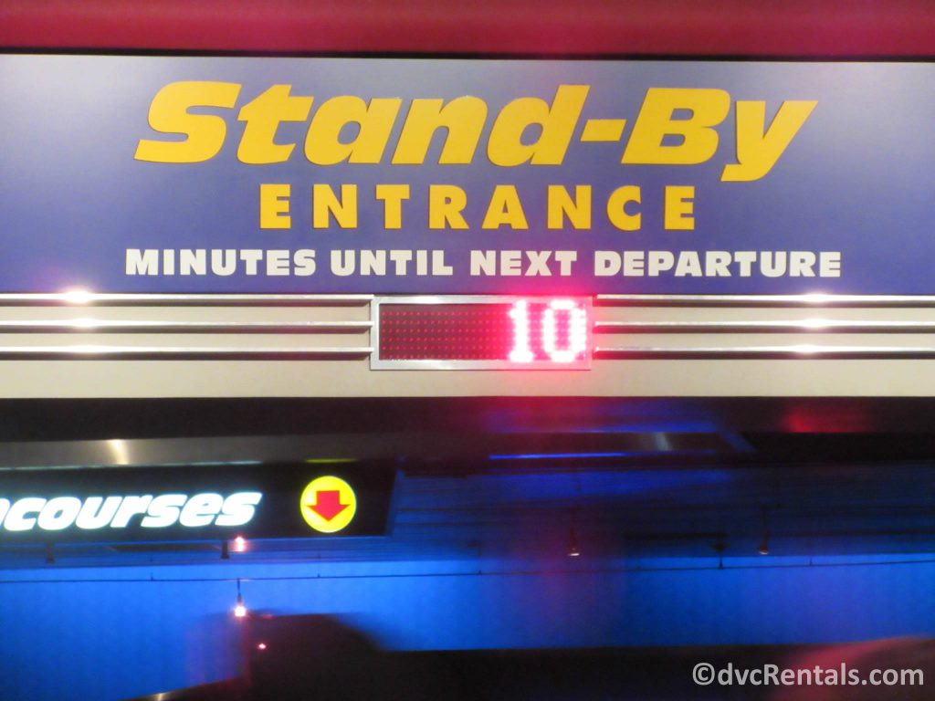 5 minute wait time at Soarin' in Epcot