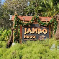 Sign for Disney's Animal Kingdom Villas – Jambo House