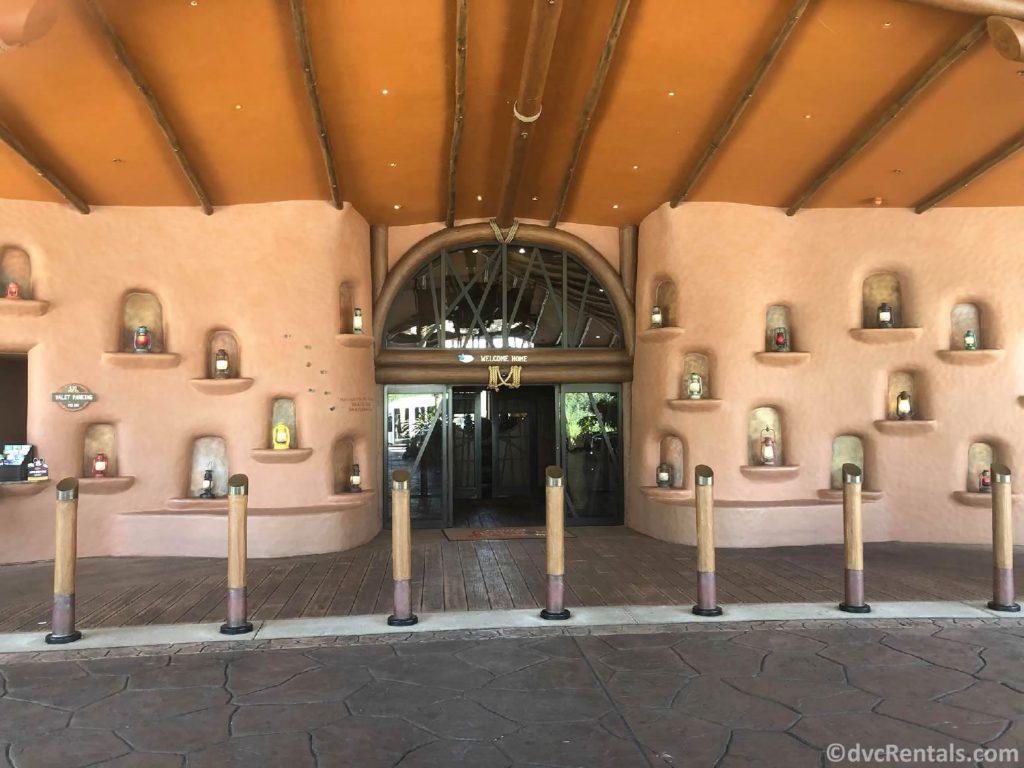 Entrance to Disney's Animal Kingdom Villas – Kidani Village
