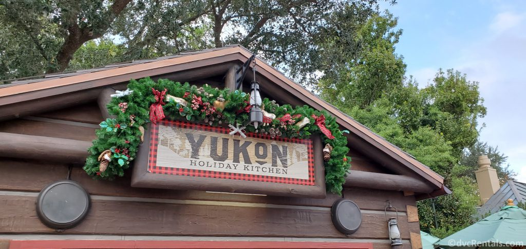 Yukon Holiday Kitchen at the Taste of EPCOT International Festival of the Holidays