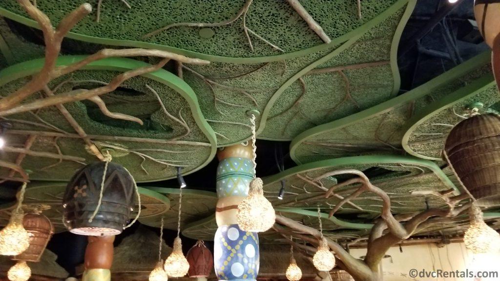 ceiling at Sanna