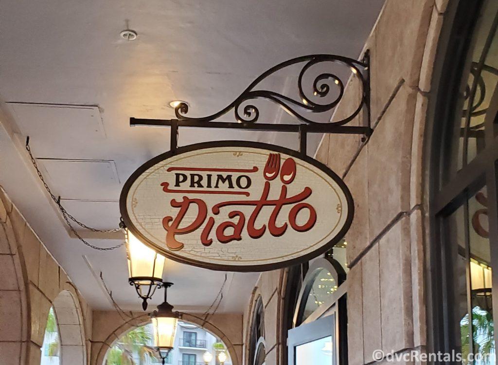 Primo Piatto at Disney's Riviera Resort
