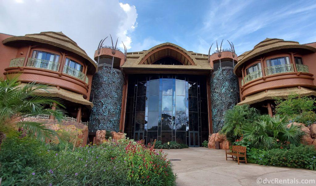 exterior shot of Disney's Animal Kingdom Villas – Jambo House