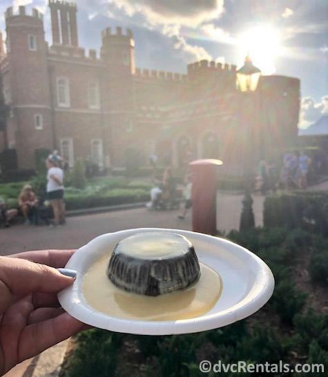 Dessert option form the 2019 Epcot International Food and Wine Festival