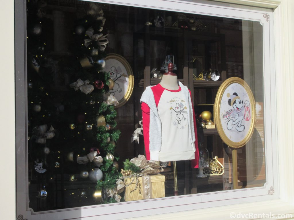 Window displays that are holiday themed