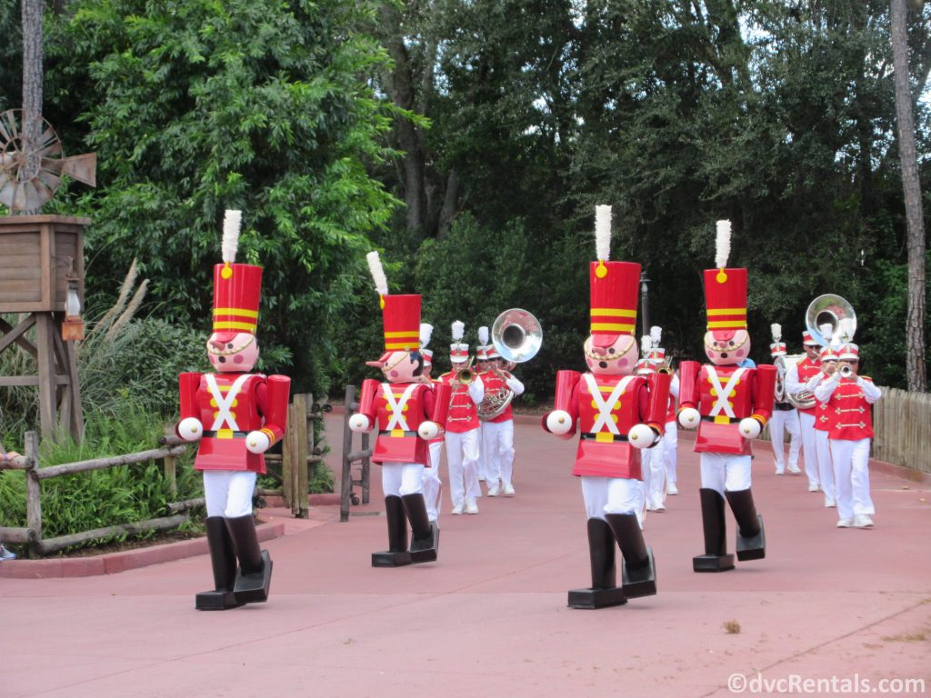 Toy soldier at the Magic Kingdom