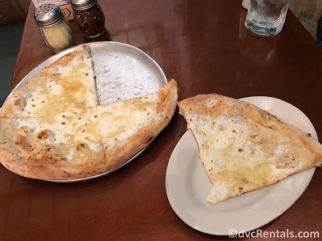 Via Napoli pizza from Epcot