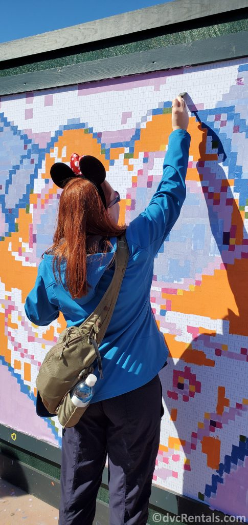 Paint by Numbers Mural from the Taste of Epcot International Festival of the Arts