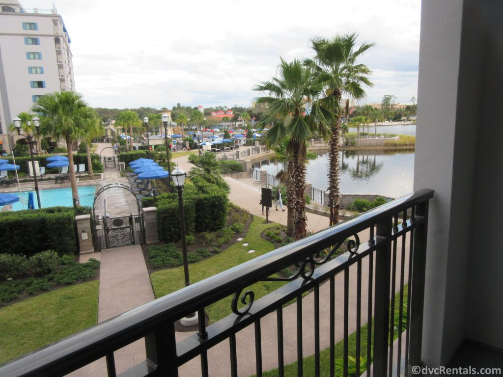 balcony at Disney's Riviera Resort