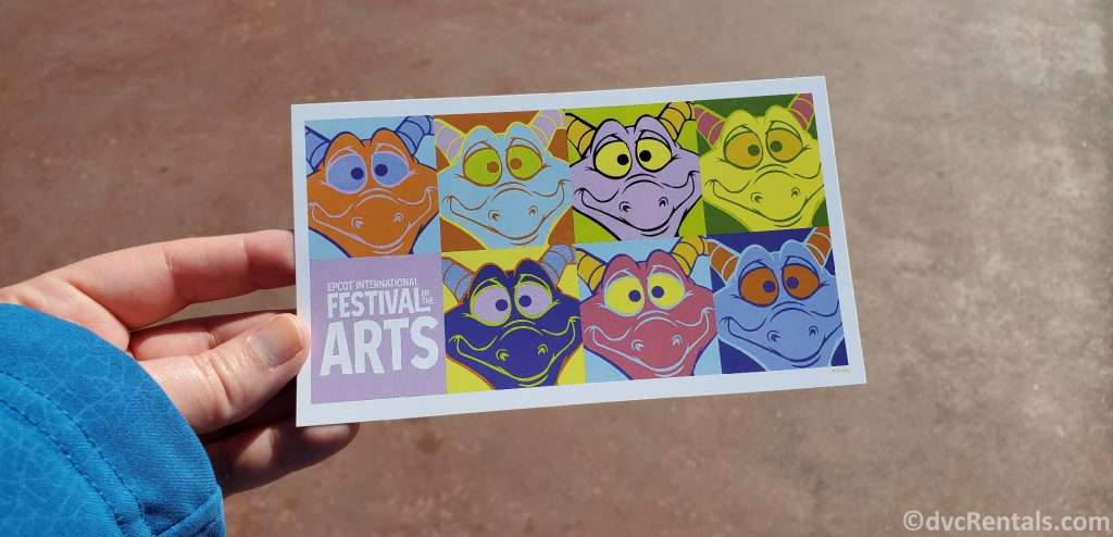 Postcard from the Epcot International Festival of the Arts 2020