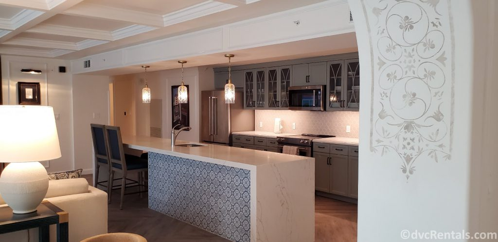 Grand Villa kitchen at Disney's Riviera Resort