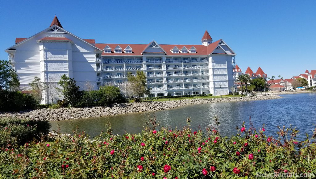 Exterior shot of the Villas at Disney's Grand Floridian Resort