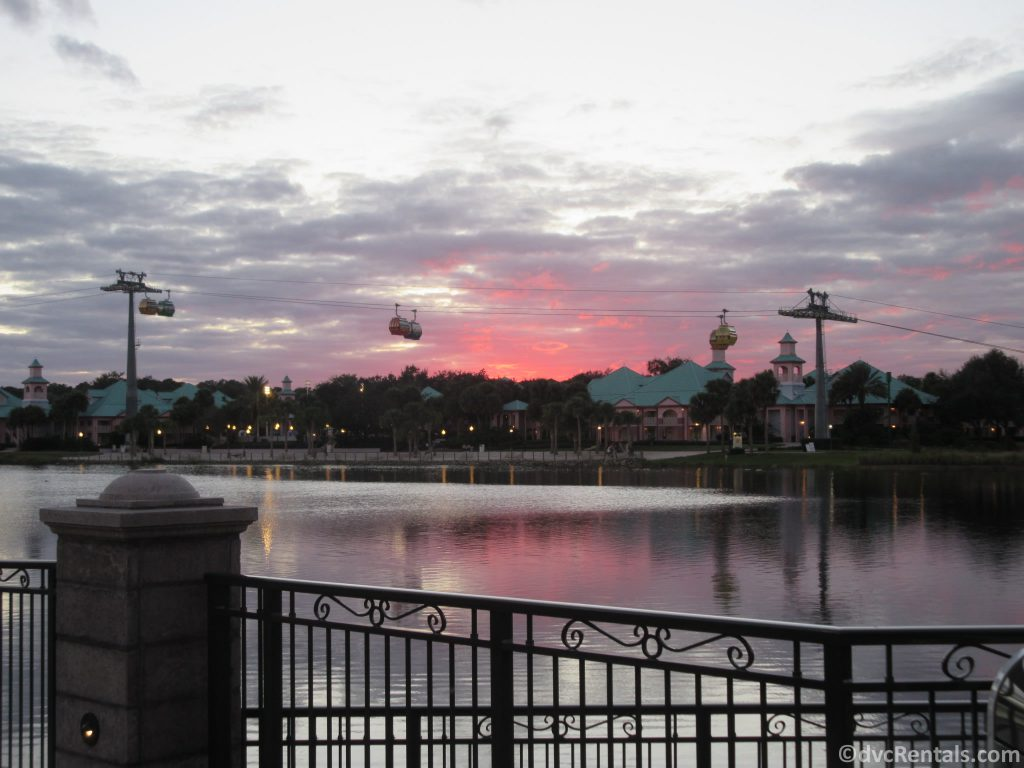 Skyliner as seen from Disney's Riviera Resort