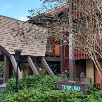 Tokelau building at Disney's Polynesian Villas & Bungalows