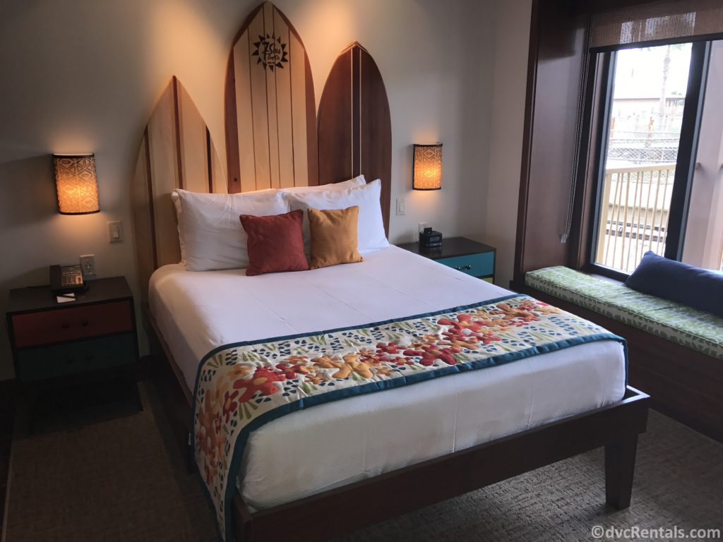 2nd bedroom in a bungalow at Disney's Polynesian Villas & Bungalows