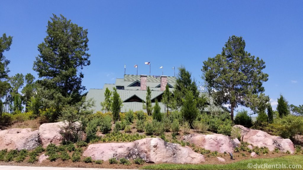 Exterior shot of Copper Creek Villas & Cabins at Disney's Wilderness Lodge