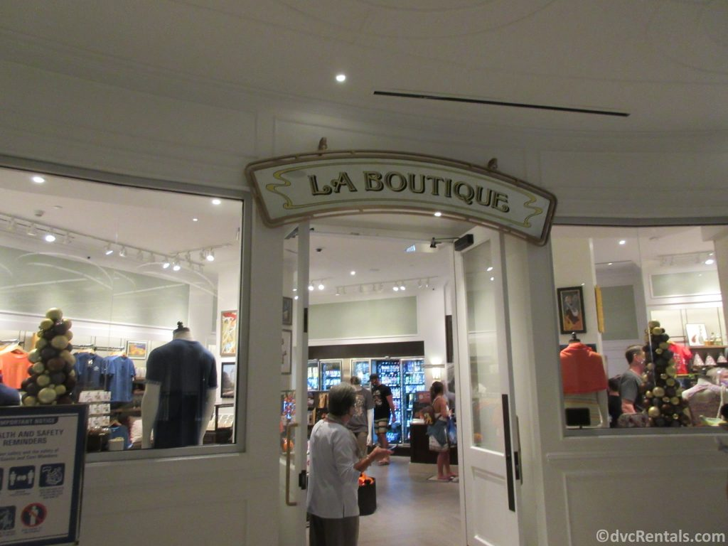 La Boutique at Disney's Riviera Resort