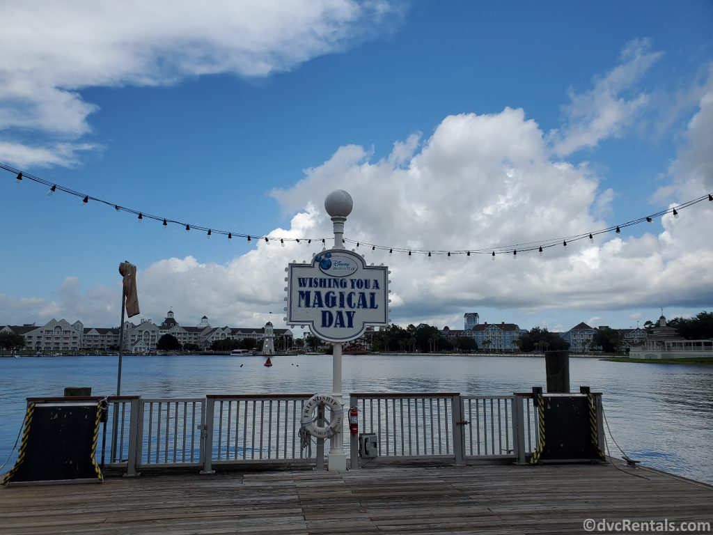 Wishing you a Magical Day at Disney's Boardwalk Villas