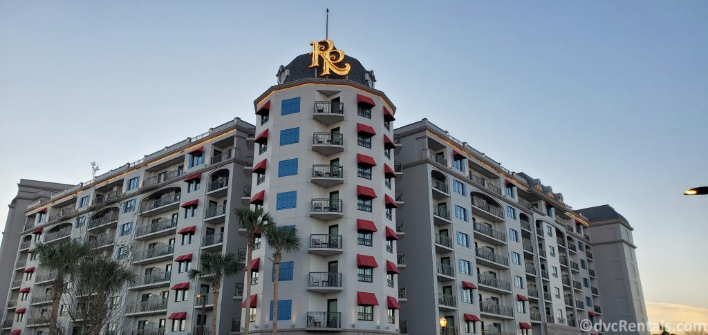 Exterior shot of Disney's Riviera Resort