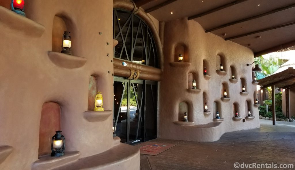 Entrance to Disney's Animal Kingdom Villas – Kidani Village