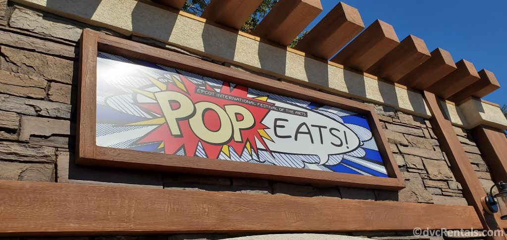 Pop Eats food booth at the Taste of Epcot International Festival of the Arts