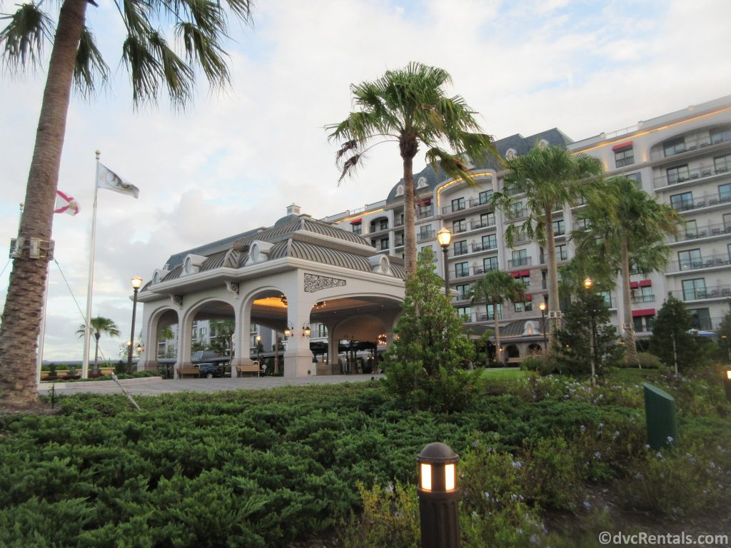Entrance to Disney's Riviera Resort