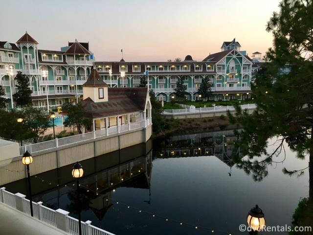 Exterior shot of Disney's Beach Club Villas