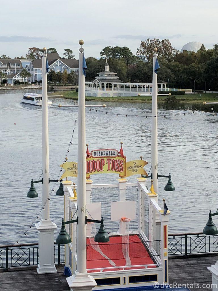 games at Disney's Boardwalk area