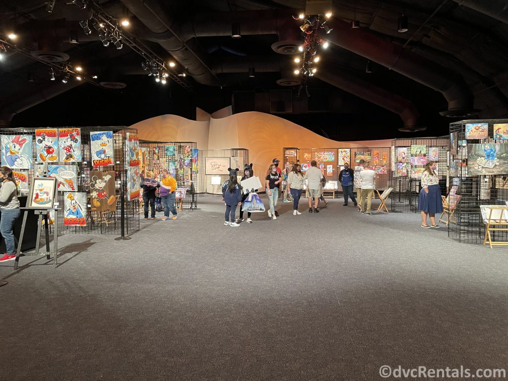 Inside the World Showplace at the Taste of Epcot International Festival of the Arts