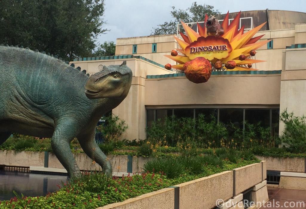Entrance to the Dinosaur ride at Disney's Animal Kingdom