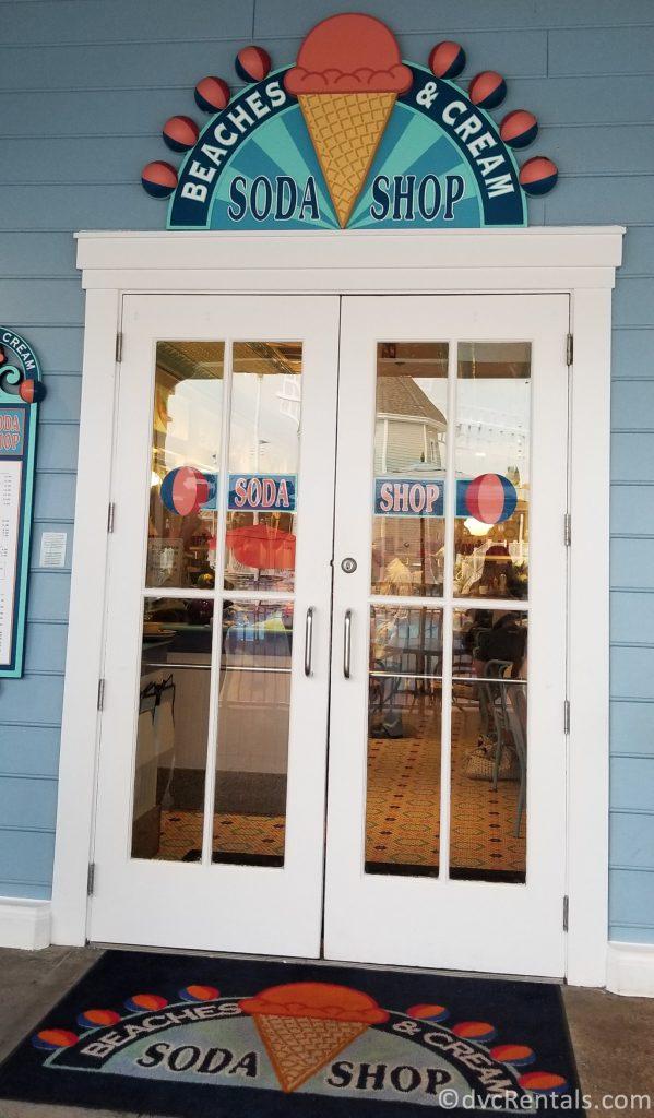 Entrance to Beaches & Cream Soda Shop