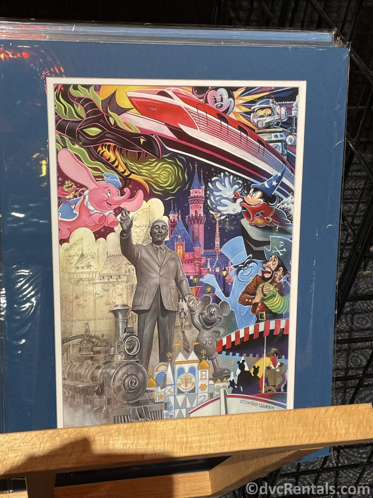 artwork from the Taste of Epcot International Festival of the Arts