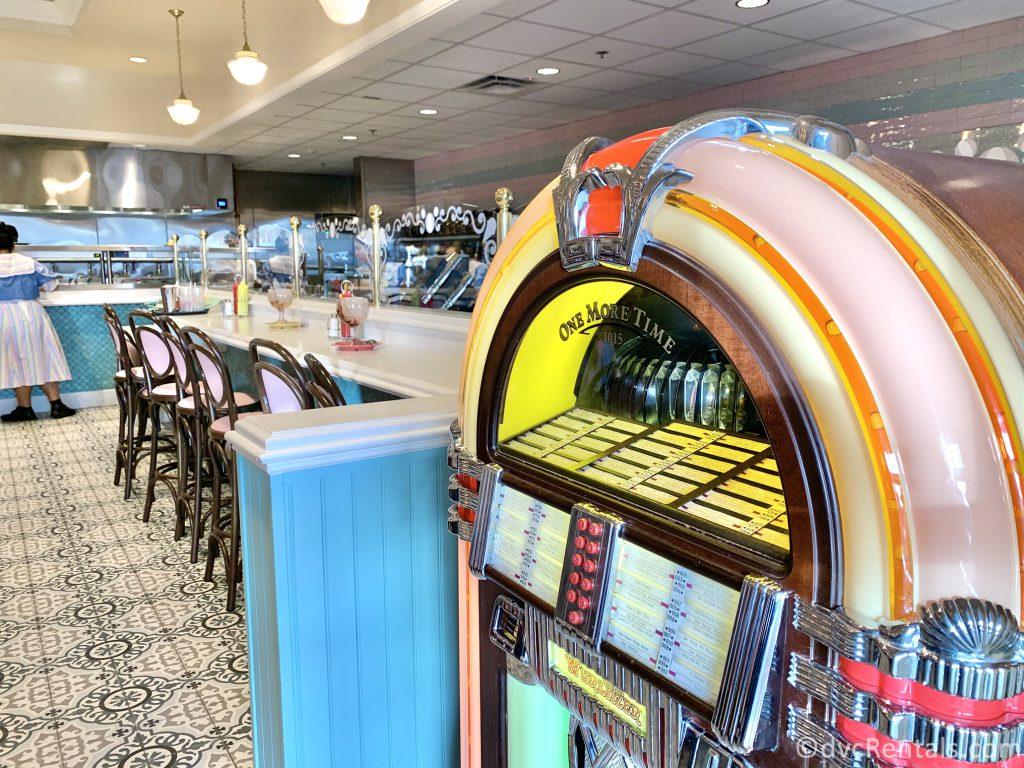 Decor at Beaches & Cream Soda Shop