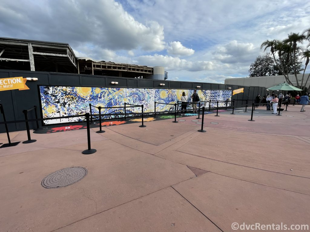 Paint by Numbers mural at the Taste of Epcot International Festival of the Arts