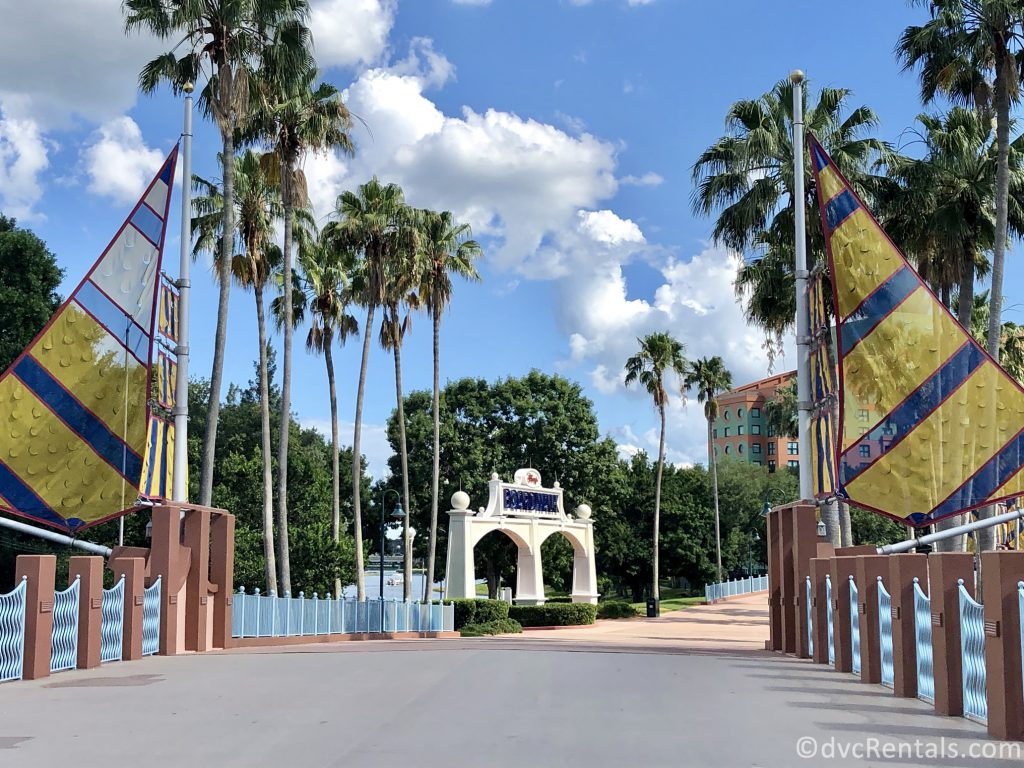 walking path from Epcot to Disney's Boardwalk