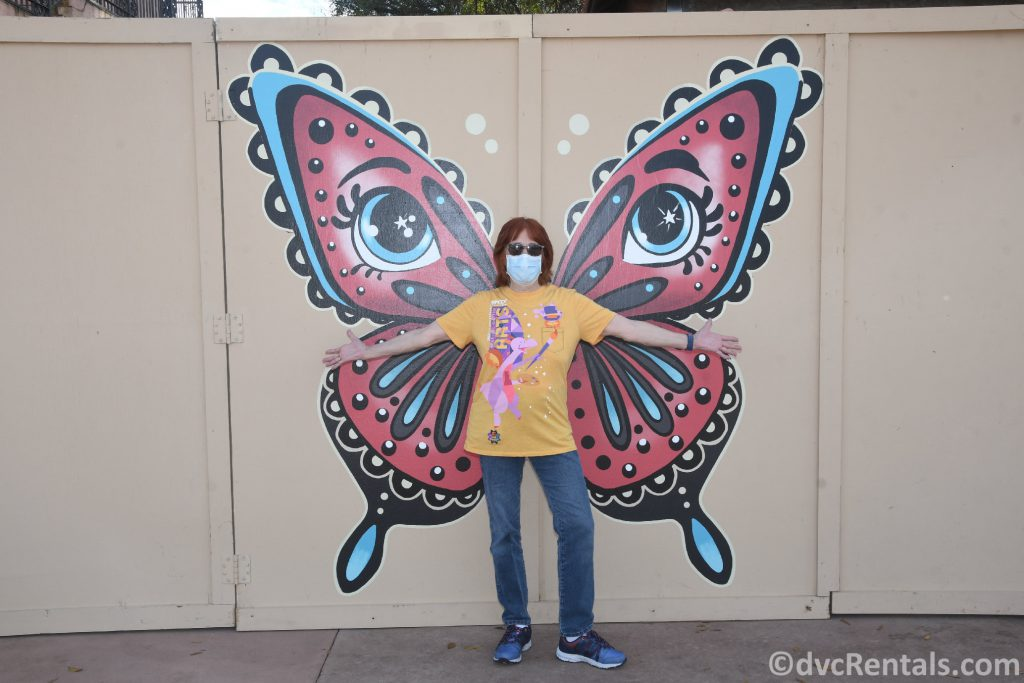 Butterfly Wings at the Taste of Epcot International Festival of the Arts