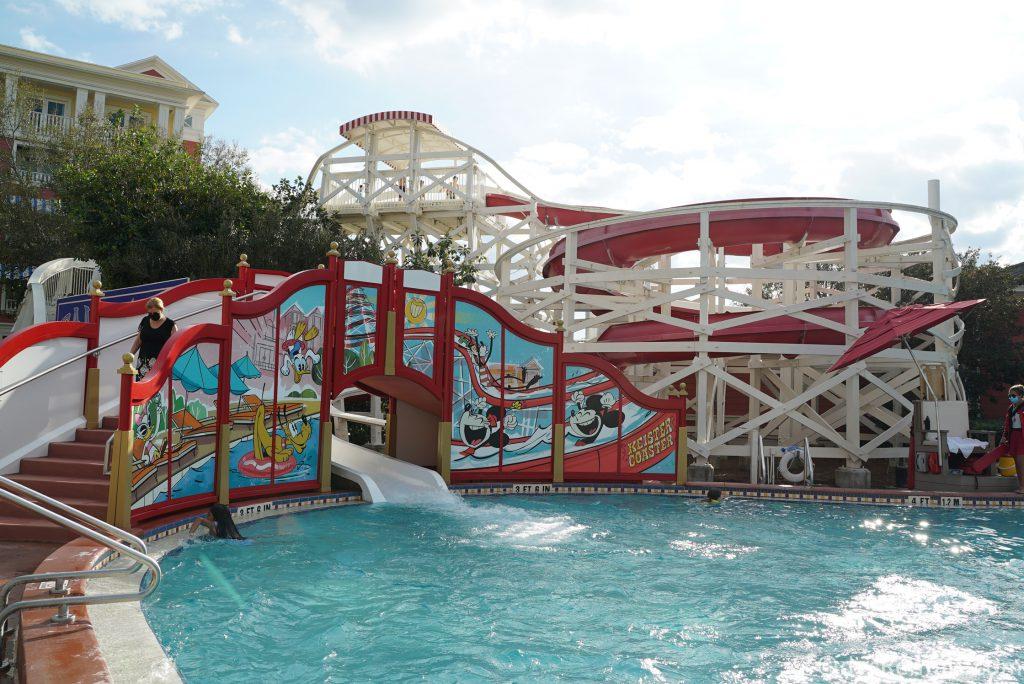 Feature pool at Disney's Boardwalk Villas