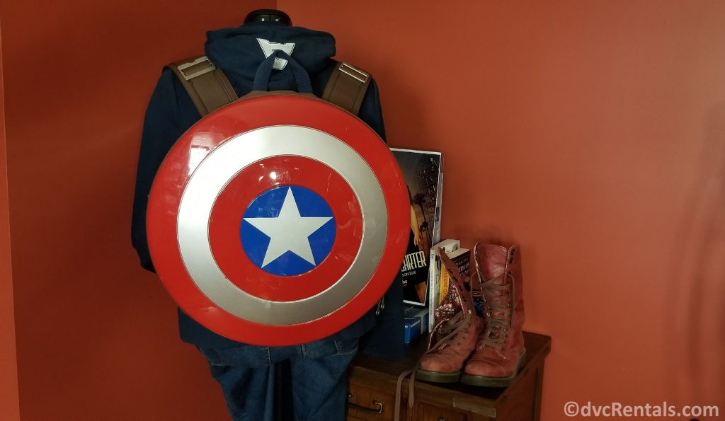 clothing options for a Captain America Bound