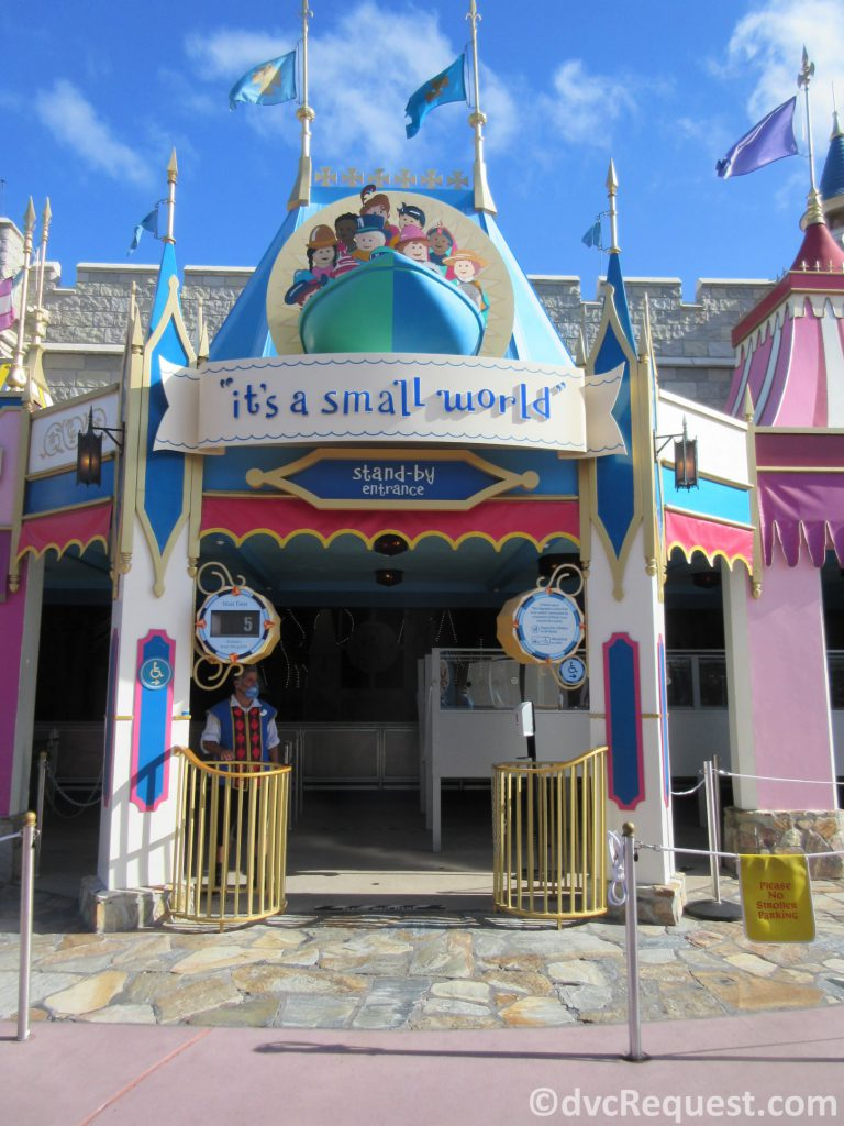 Entrance to It's a Small World