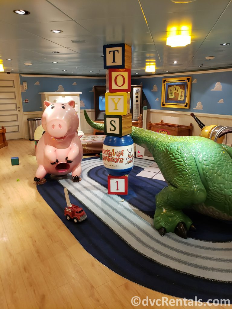 Andy's Room on the Disney Dream