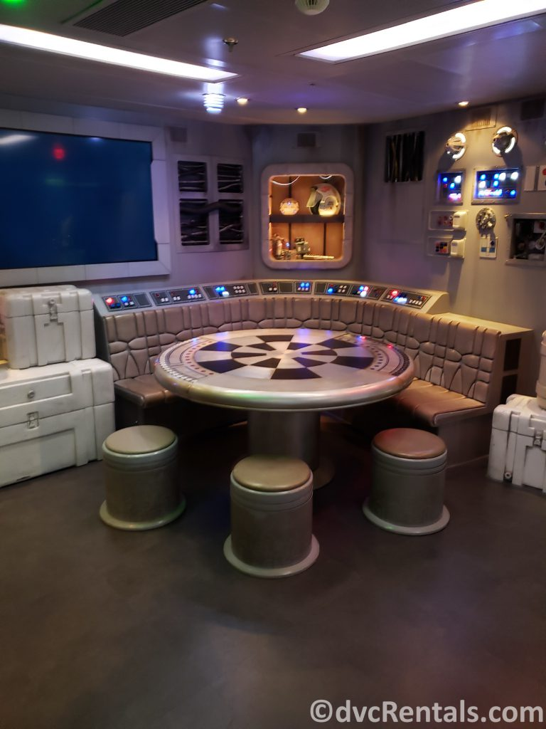 Millennium Falcon on the Disney Dream