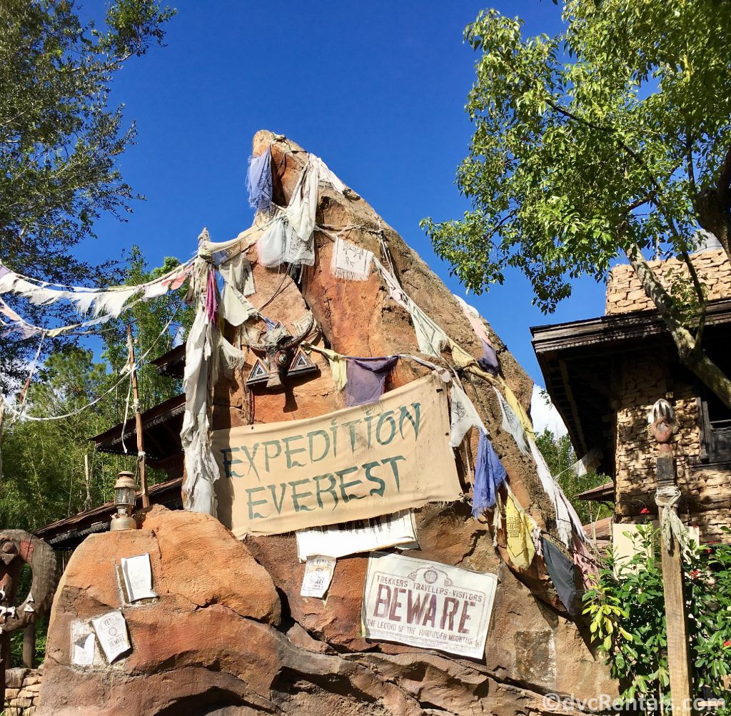 sign for Expedition Everest at Animal Kingdom