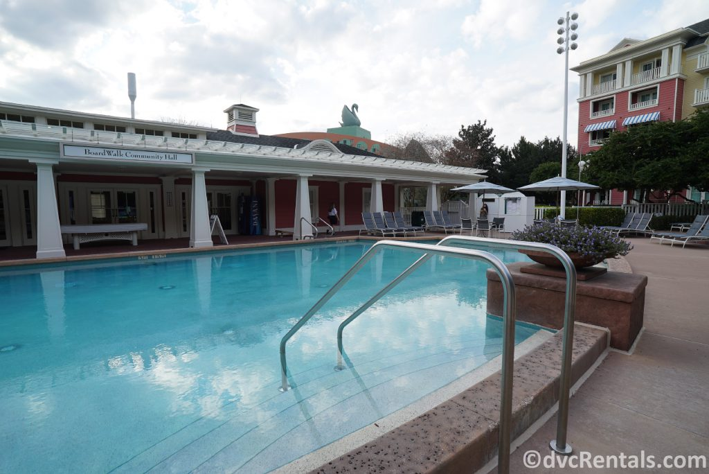 Leisure pool at Disney's Boardwalk Villas