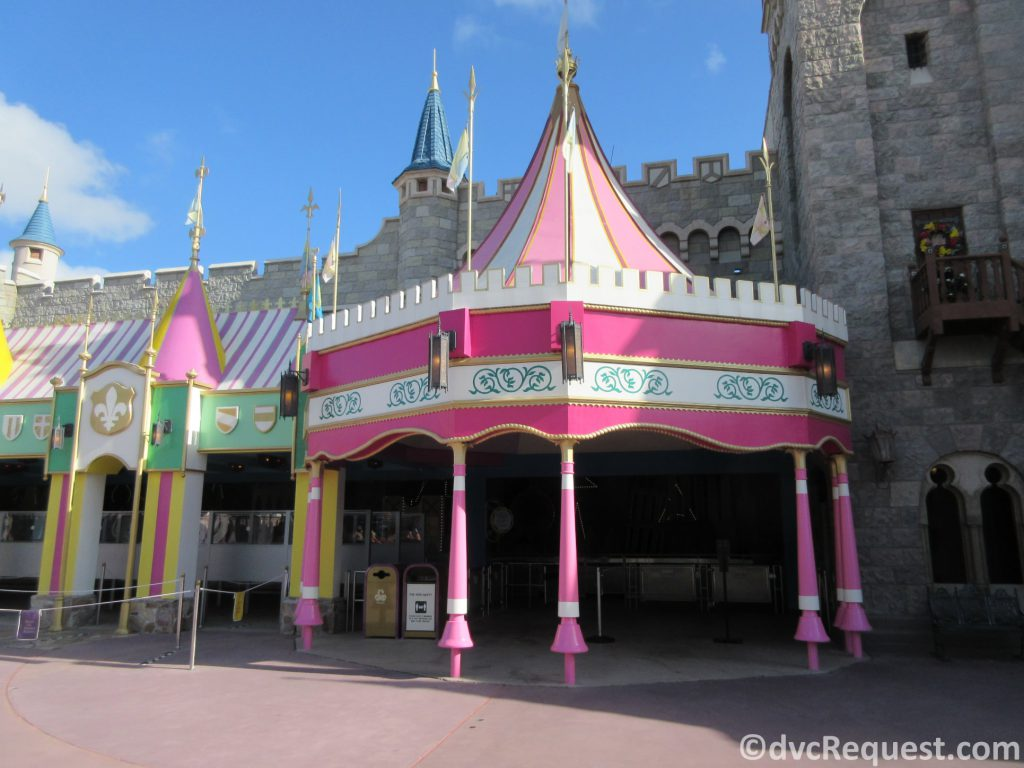 Exterior shot of It's a Small World
