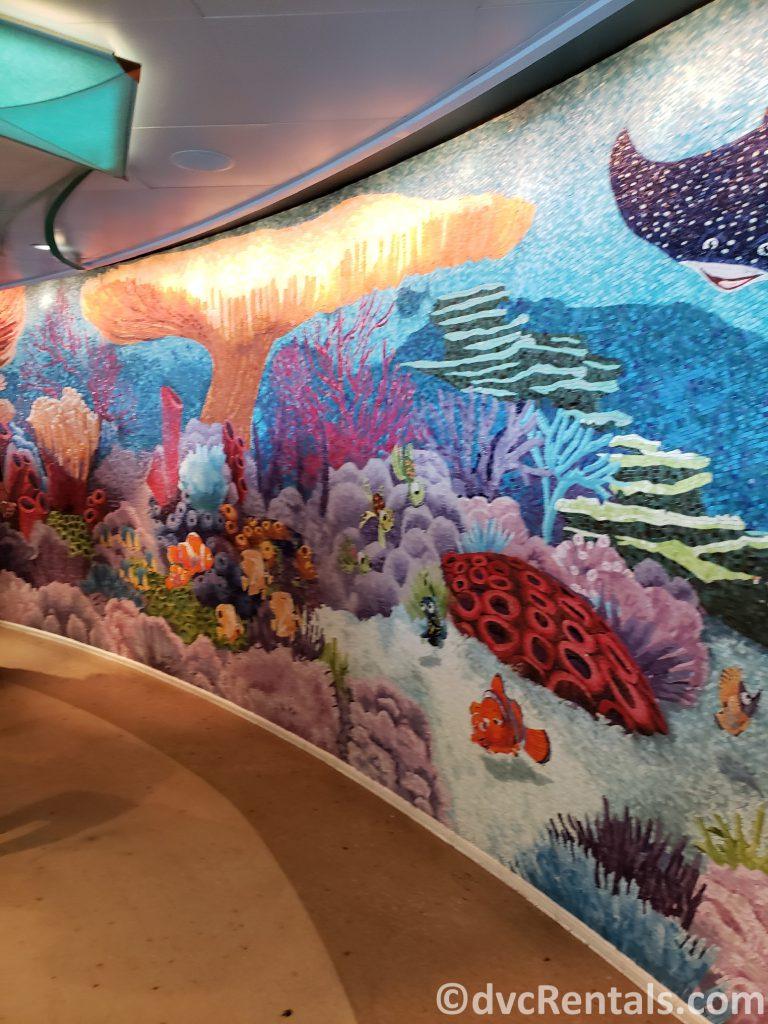 tile mural at Cabana's on the Disney Dream